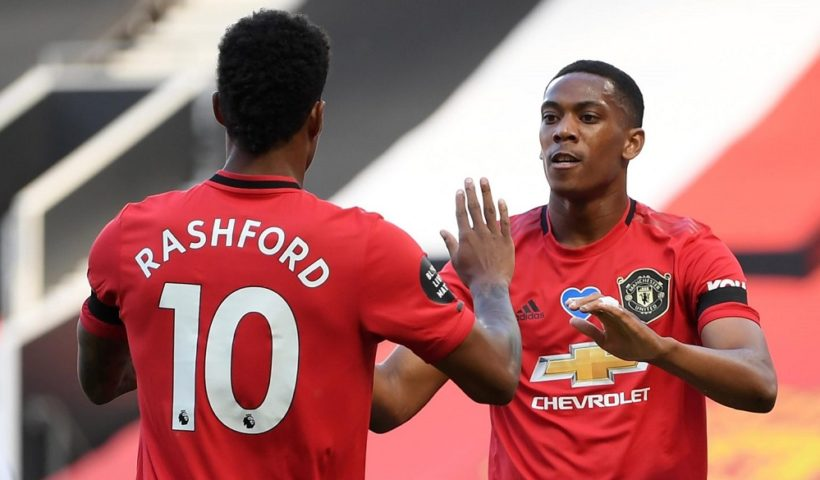 man utd martial rashford